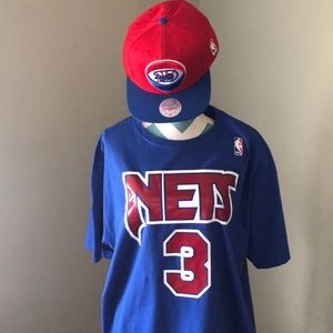 Drazen Petrovic Throwback Nets t-shirt and Cap